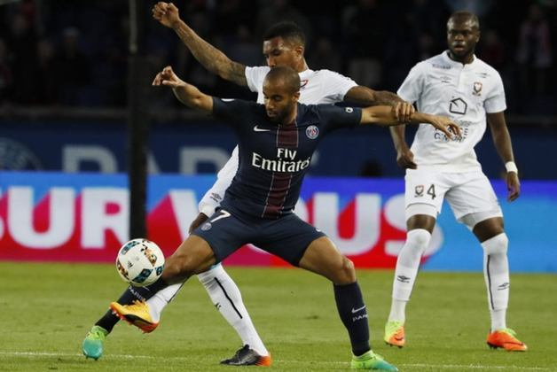 4º – Lucas Moura - Revelado pelo São Paulo, o atacante foi para o Paris Saint-Germain na temporada 2012/2013.