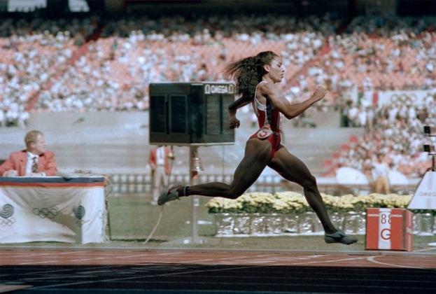 4º lugar: Família Joyner (EUA) - 12 medalhas, 7 de ouro - 1984 a 1996 – Atletismo / Foto: Florence Joyner