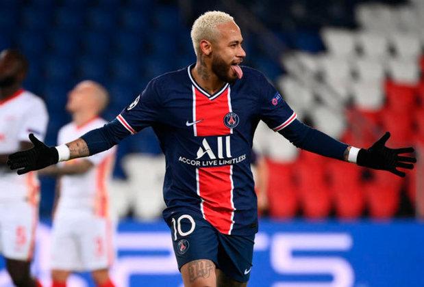 4º lugar: Neymar, atacante do Paris Saint-Germain - Faturamento de 96 milhões de dólares por ano