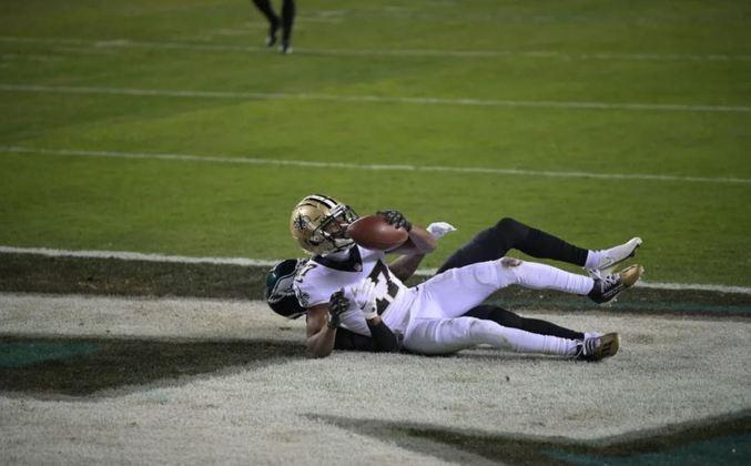 4º New Orleans Saints (10-3): Cometeram erros contra os Eagles que não aconteciam desde o início de 2020. Drew Brees precisava voltar para o ataque voltar a render em alto nível.