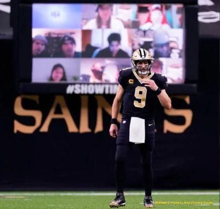 4º New Orleans Saints (10-4): O time demonstrou força, mesmo na derrota contra os Chiefs. Com ritmo, Drew Brees pode dissecar qualquer defesa.