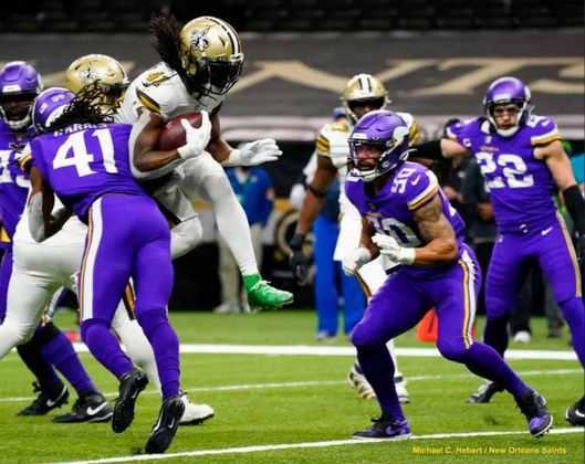 4º New Orleans Saints (11-4): Um dos mais completos times da NFL. Ataque e defesa de alto nível e que encaram qualquer um de igual para igual.