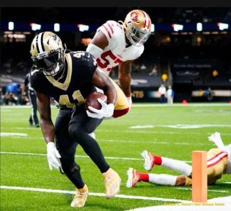 4° New Orleans Saints - Seis vitórias seguidas e contando. A preocupação fica por conta da lesão de Drew Brees e indefinição do seu substituto.