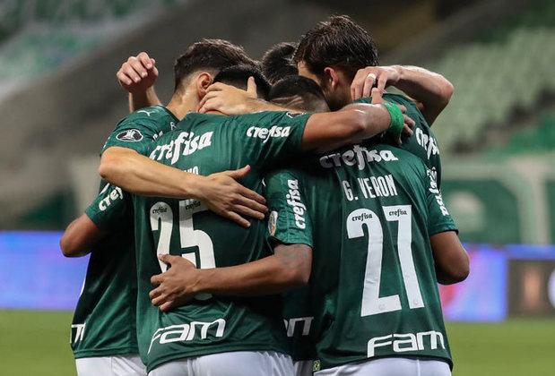 4 – PALMEIRAS: 9 pontos em 4 jogos. 3 vitórias, 0 empates e 1 derrota. Seis gols marcados e um sofrido. 75% de aproveitamento.