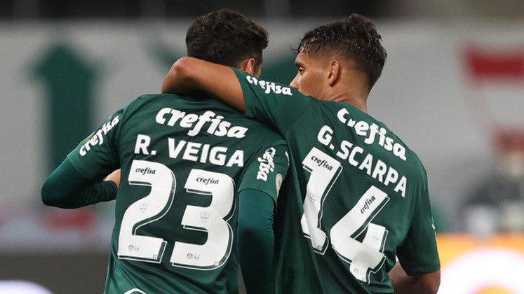4º - Palmeiras: Total – 13.726.391 milhões de inscritos