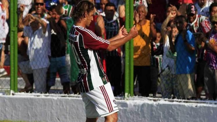 4. Rafael Moura, quatro gols (quatro em 2011 e um em 2012)