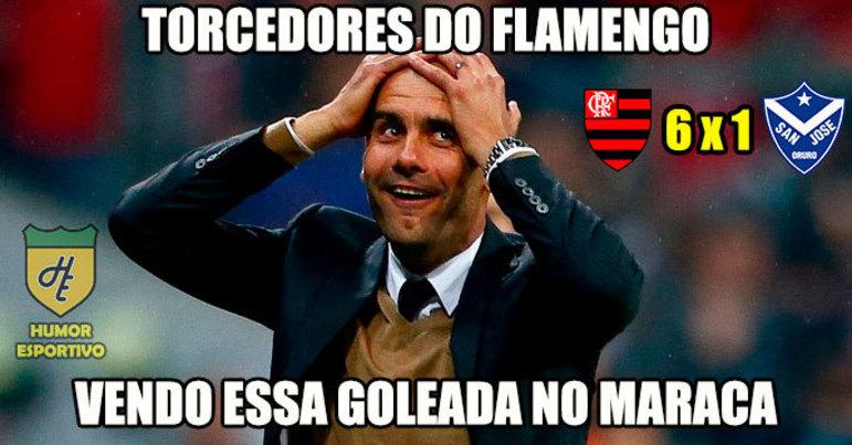 4ª rodada (11/04/19) - Flamengo 6 x 1 San José