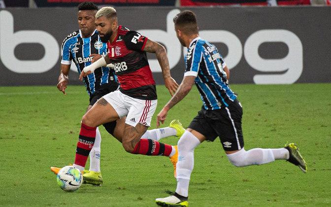 4ª rodada) Flamengo 1x1 Grêmio, no Maracanã, em 19 de agosto de 2020