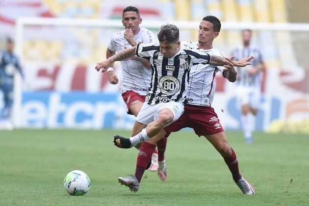 4ª rodada - Fluminense x Santos - Nos últimos dois confrontos, uma vitória em casa e um empate fora para o Flu.
