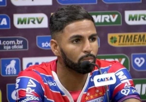4º - Romarinho: atacante - 27 anos - contrato com o Fortaleza até dezembro de 2022 - valor de mercado: 950 mil de euros (cerca de R$ 5,8 milhões)