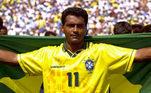 4º - Romário: 55 gols: 95 jogos pelaseleção