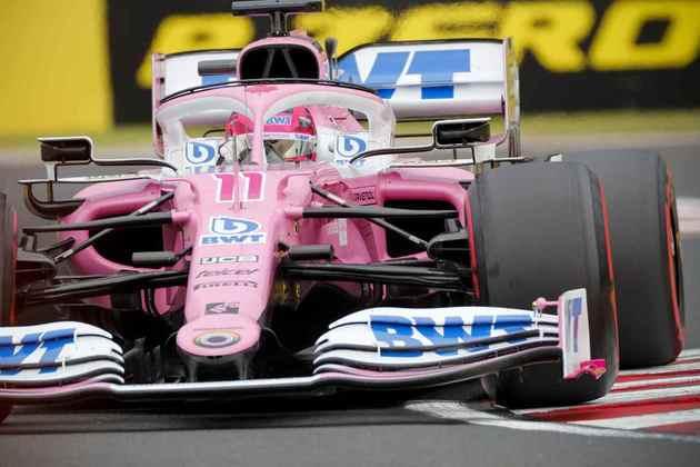 4) Sergio Pérez (Racing Point), 1min14s545