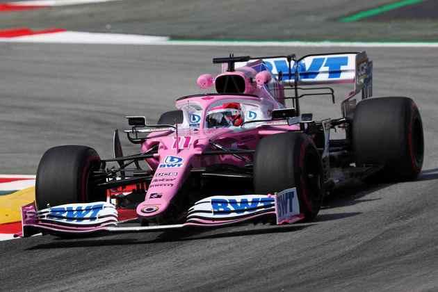 4) Sergio Pérez (Racing Point), 1min16s568