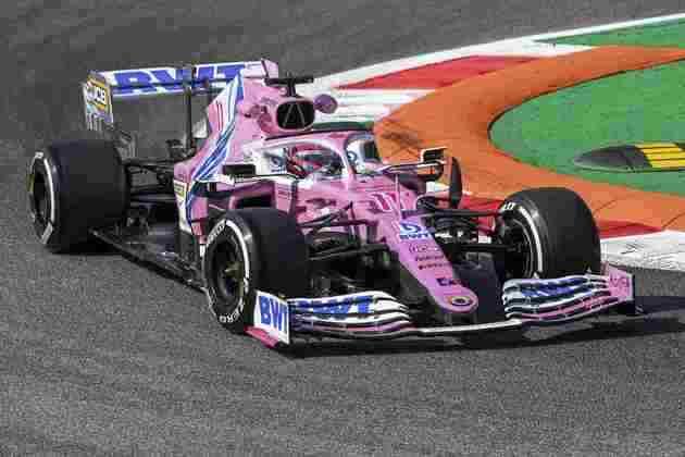4) Sergio Pérez (Racing Point), 1min19s720