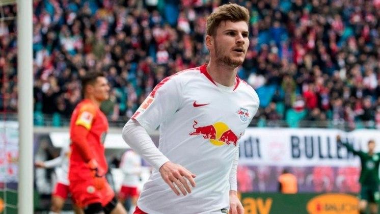 4º - Timo Werner - Red Bull Leipzig-ALE - 21 gols (42 pontos) - Único alemão na lista, Timo Werner é outro atacante que vem brilhando na temporada. Com 21 gols, o centroavante é o vice-artilheiro da Bundesliga e ainda sonha com a ponta na disputa, já que o campeonato voltou a ter bola rolando