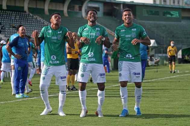 40º lugar: Guarani - 3.660 pontos