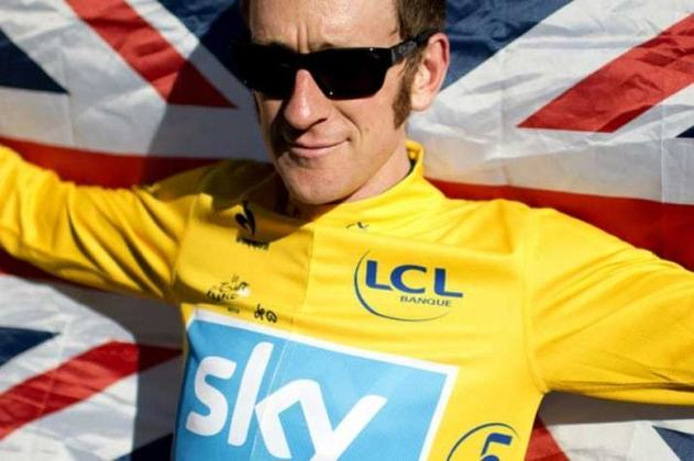 41) Bradley Wiggins (Grã-Bretanha) - Ciclismo
