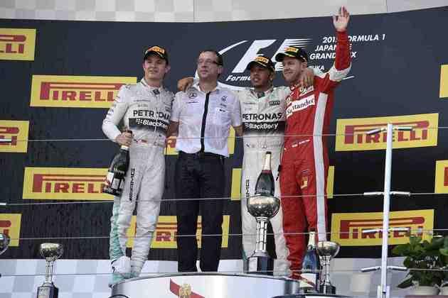 41 - No GP do Japão, Lewis Hamilton venceu em Suzuka e chegou ao mesmo número de vitórias do ídolo Ayrton Senna na Fórmula 1