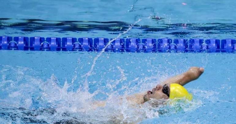 42) Daniel Dias (Brasil) - Natação paralímpica