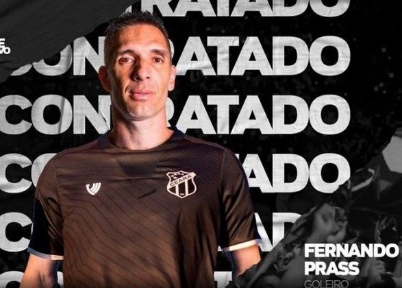 42 – O goleiro Fernando Prass, do Ceará, soma 781 mil seguidores.