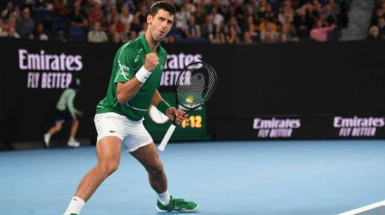 46º - Novak Djokovic (Tênis): receita em 2020 - 34,5 milhões de dólares (aproximadamente R$ 176,74 milhões)