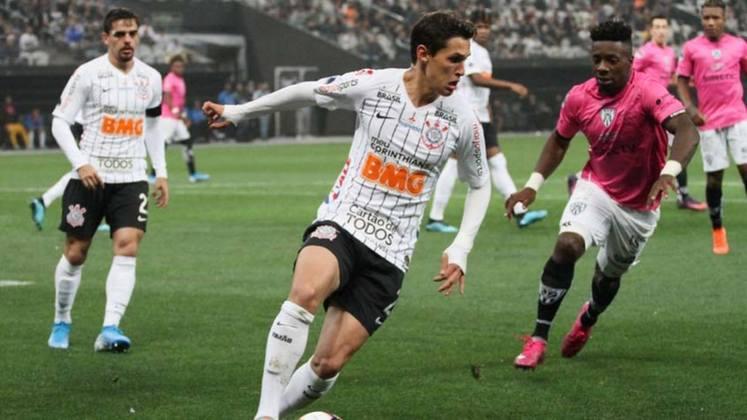 48 - Mateus Vital, meia do Corinthians, tem 599 mil seguidores nesta rede social.