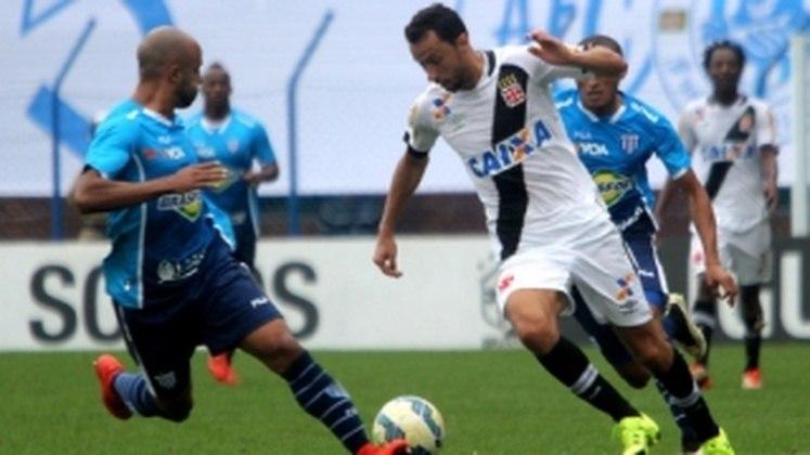 5º - Avaí 1x1 Vasco - Brasileirão 2015 - Na Ressacada, Nenê cobrou mais um pênalti com categoria no confronto das duas piores defesas da competição na época