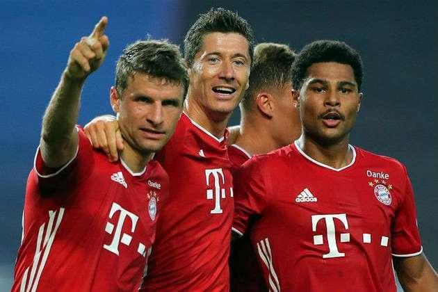 5. Bayern de Munique (Alemanha) - 23 vitórias - 2020