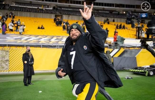 5º Ben Roethlisberger - Lidera o invicto Pittsburgh Steelers e também está cuidando bem da bola. São 22 touchdowns e somente quatro interceptações.