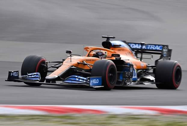 5º - Carlos Sainz (McLaren) - 7.52 - Ótima recuperação em comparação com a classificação