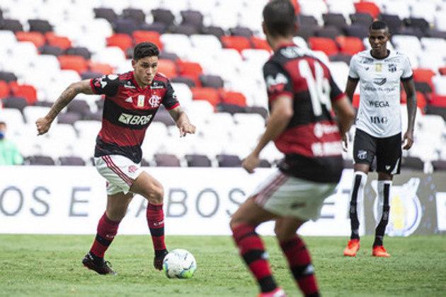 5º colocado – Flamengo (49 pontos/28 jogos): 4.1% de chances de ser campeão; 72.3% de chances de Libertadores (G6); 0% de chance de rebaixamento.
