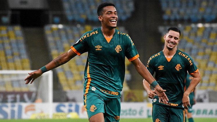 5º colocado – Fluminense (39 pontos) – 24 jogos / 3.7% de chances de título; 68% para vaga na Libertadores (G6); 0.007% de chance de rebaixamento.