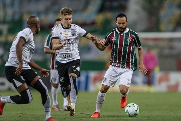 5º colocado – Fluminense (56 pontos/34 jogos): 0.017% de chances de ser campeão; 99.89% de chances de Libertadores (G6); 0% de chances de rebaixamento.