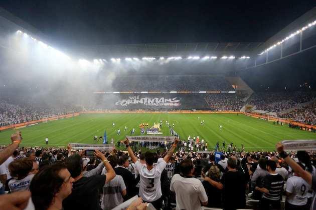 5) Corinthians 1 x 2 Cruzeiro - Final Copa do Brasil de 2018: 45.978 pagantes.