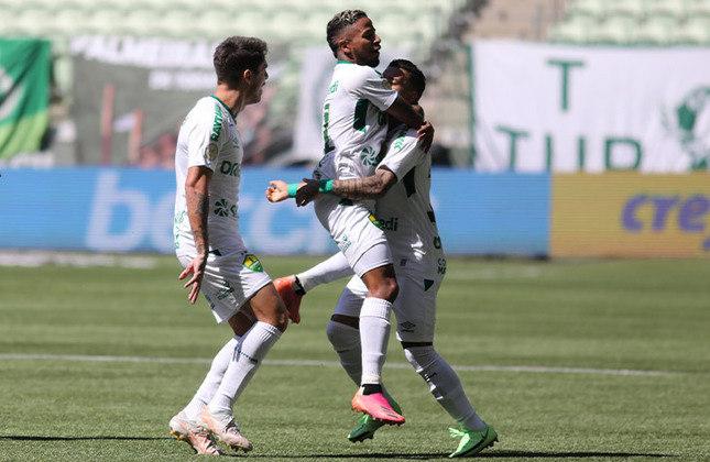 5º - Cuiabá: Campeonato Brasileiro 2021 - 1ª vitória nessa edição do Brasileirão: 12ª rodada, 3 a 2 diante da Chapecoense.