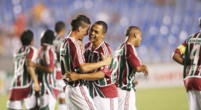 5 de março de 2008 - Fluminense 6 x 0 Arsenal-ARG - Maracanã - Libertadores