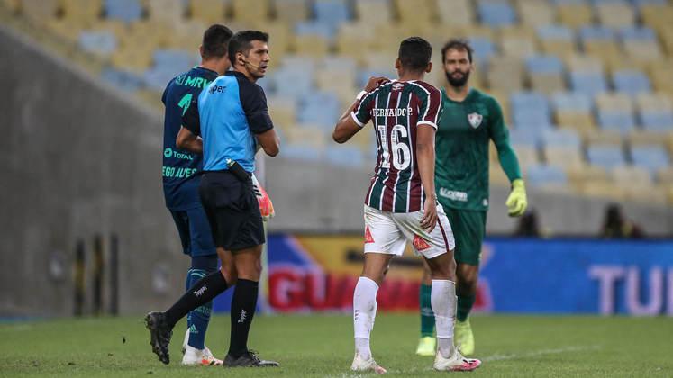 5. Diego Alves x Fernando Pacheco