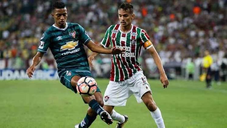 5- Fluminense 1 x 0 LDU - Sul-Americana - 14/09/2017 - 42.270 pagantes e 45.977 presentes.