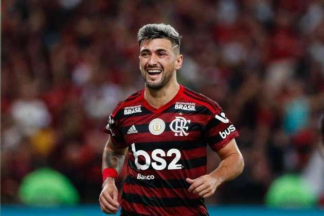 5º - Giorgian De Arrascaeta (Flamengo) - R$ 95 milhões.