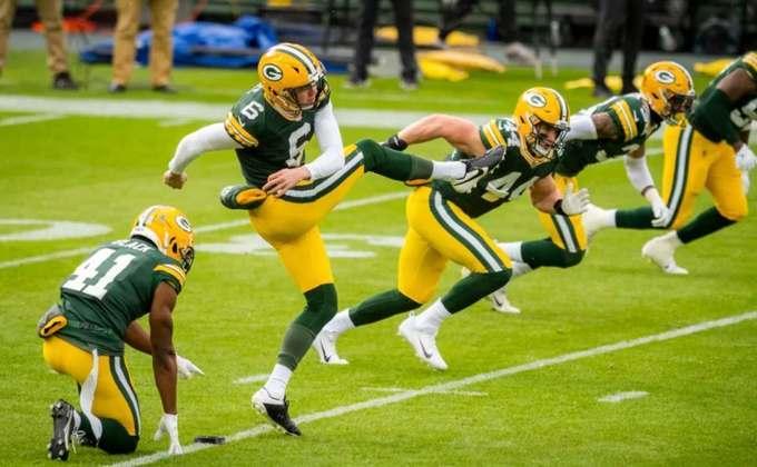 5º Green Bay Packers - Duas derrotas em três semanas. Hora dos Packers abrirem os olhos com a queda de produção.