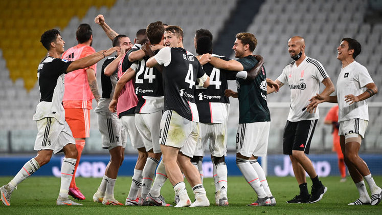 5º: Juventus - 343 pontos - 197 jogos