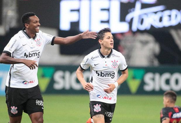 5º lugar: Corinthians (384.467 reações de amor - 21.750 reações de raiva = 362.717 de felicidade líquida)