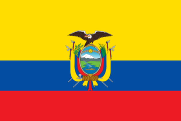 5º - lugar - Equador: 3 pontos (ouro: 1 / prata: 0 / bronze: 0)