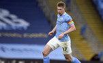 5º lugar: Manchester City (Inglaterra/nível 4) - 221 pontos