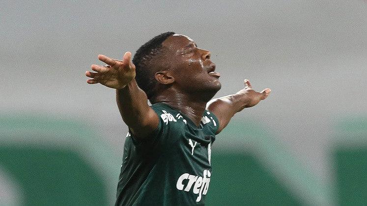 5º lugar: Patrick de Paula - Palmeiras - 21 anos - Meia - Avaliado em: 7 milhões de euros (aproximadamente R$ 45,35 milhões)