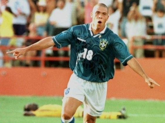 5° lugar – Ronaldo – 5 gols em 6 jogos (Atlanta 1996)