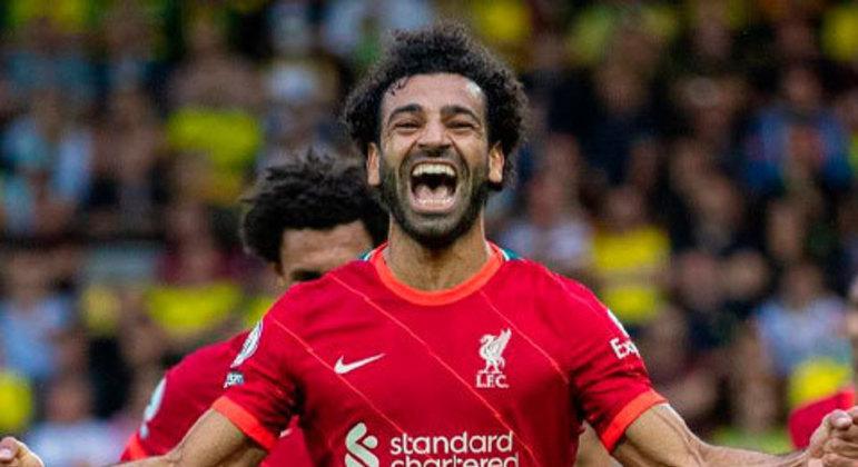 5. Mohamed Salah (Liverpool/Egito)