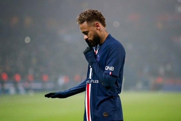 5 Neymar - 0.65 gols por jogo (174 gols em 266 jogos)