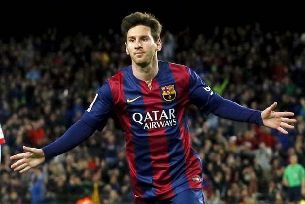 5) O Barcelona de Lionel Messi abre o top 5, com uma média de 11.438 interações.
