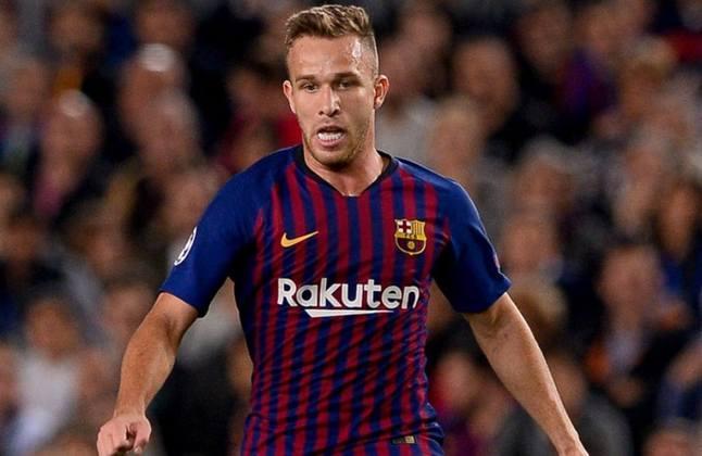 5- O Barcelona ficou encantado com as qualidades de Arthur e pagou 31 milhões de euros ao Grêmio em 2018
